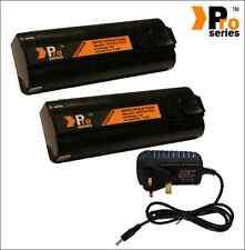 2 X 1.5ah baterías de repuesto para Paslode pistola de clavos & conjunto de Cargador de red