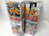 Japanese Comics Complete Full Set Naruto vol. 1-72