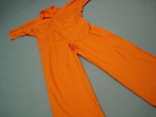 Inmate Jail Prisoner Costume Convict  Orange Prison  Jumpsuit  2XL