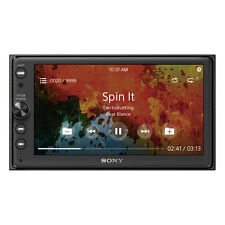 "Sony XAV-AX100 6.4"" 2-DIN Apple Car Play Android Auto Touchscreen Car Stereo"