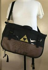 Official Nintendo Licensed The Legend Of Zelda Messenger Bag - Brown/Black -EUC!