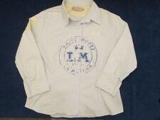 La Martina Polo Argentino  Jungen-Hemd hellblau  Applikationen  Gr. 128 / 134