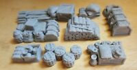 28mm Cargo Props for ships and wagons,Scatter, Terrain, Scenery for Wargames,