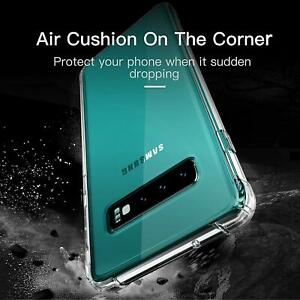 CLEAR Case For Samsung Galaxy S10 S9 S20 Plus A10 A90 A20E A50 Shockproof cover