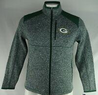 Green Bay Packers NFL Team Apparel Men's Green Full-Zip Soft Shell MSRP $110