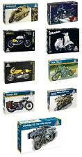 Italeri 1:9 Scale Motorcycle Plastic Model Kits Choice available
