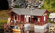 Faller Boat house with Pontoon 130510 HO Scale (suit OO also)