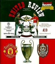 MANCHESTER UNITED v CFR CLUJ Champions League 2012/13 MINT