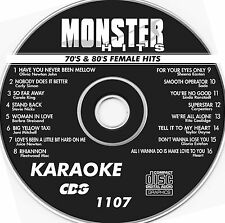 Karaoke 1107 Monster Hits CDG Carly Simon,Carpenters,Carole King,Heart NEW