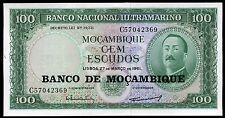 MOZAMBIQUE  100 ESCUDOS  billet neuf )  1961