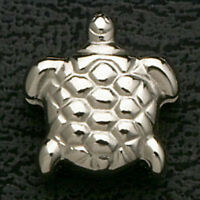 Sea Turtle Bead Stainless Steel Metal Silver Fit European Charm Bracelets