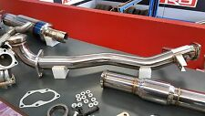 Hyperflow Mitsubishi EVO 7 8 9 GSR GTA MR Front Pipe and High Flow Cat Package