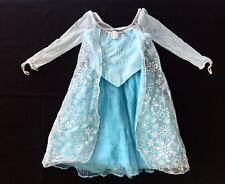 Disney Parks Frozen Elsa Girls 6 Small Halloween Costume Dress Up