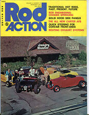 Rod Action Magazine December 1975 Traditional Hot Rods EX 081516jhe