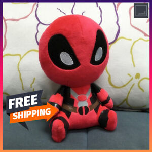 Kawaii squishy stuffed plush toy puppet avengers deadpool figure gift for kids