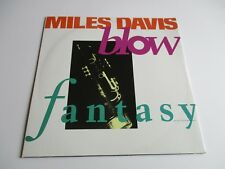 "MILES DAVIS Blow/ Fantasy Vinyl 12"" EP 7 TRACKS 1992 NM+"