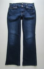 7 Seven For All Mankind Karrah Petite Short Inseam Boot Cut, Dark - Size 29 x 29