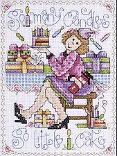 Cross Stitch Kit ~ Design Works So Many Candles Funny Birthday Lady #DW9792