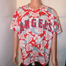Los Angeles Angels of Anaheim Hawaiian Baseball Jersey (Xl) California Promo