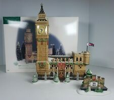 Department 56 Dickens' Village Series 1998 Big Ben Clock Tower #56.58341 Vgc