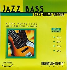 Thomastik Infeld JF364 Nickel Flat Wound Round Core Jazz Bass Strings 44-96