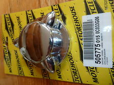Pike Petrol Gas Cap Cover Fit Harley-Davidson Late 73-83 And Custom Application