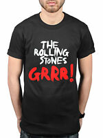 Official The Rolling Stones Grrr! T-Shirt Rock Band Indie Mick Jagger Tour Merch