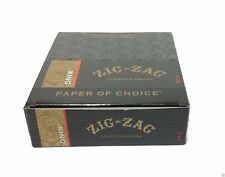 ZIG ZAG KING SIZE ROLLING CIGARETTE PAPER 24 Booklet Packs Slow Smooth Burning