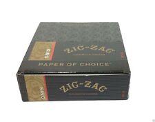 ZIG ZAG KING SIZEROLLING CIGARETTE PAPER 24 Booklet Packs Slow Smooth Burning