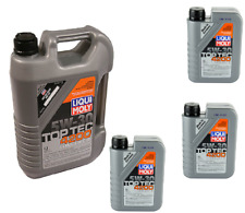 8 Liters Liqui Moly TOP TEC 4200  5w30 Synthetic Engine Motor Oil for Volkswagen
