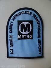 Los Angeles MTA VINTAGE UNIFORM PATCH Metro Shoulder Bus Transportation Transit