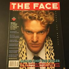 VINTAGE ART/FASHION MAGAZINE THE FACE MAY 1989 DENNIS QUAID JERRY LEE LEWIS