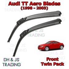 "(98-03) Audi TT 8N MK1 Aero Wiper Blades Window Windscreen 22"" 21"" Hook Type"