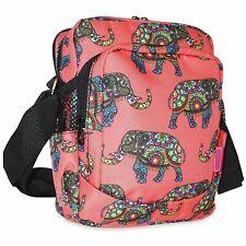Elephant Messenger Bag Crossbody Shoulder Bottle Holder Purse Handbag Womens