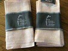 More details for 8 new in packet irish linen napkins - fergusons irish linen factory