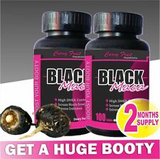 Black Maca Root Pills :Get a HUGE Booty FAST / 2 Months Supply (SAVE 15%)