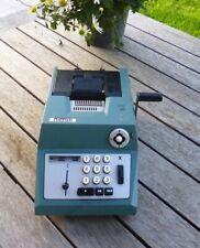 Vintage Olivetti Underwood Suma Prima Manual Adding Machine Calculator