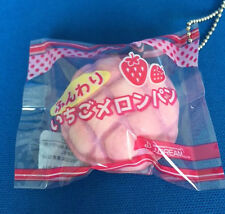 Squishy J-Dream Mini Bakery Squishes 4(Strawberry Melonpan)