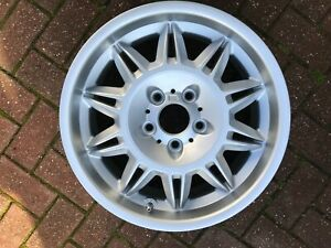 """BMW E36 M3 STYLE 39 SUNFLOWER 17"""" FRONT ALLOY WHEEL 7.5JX17 36112228150 OEM #1"""