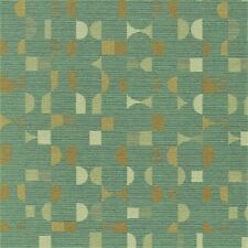 Momentum Essay Aegean  sea glass,tan, & cream modern shapes Upholstery Fabric