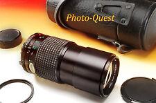 ***NEAR MINT*** MINOLTA MD TELE ROKKOR-X 200mm f/4 Lens [SEE SAMPLE SHOTS]