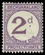 Bechuanaland Postage Due Stamps