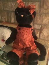 Boyd's Bears - Felina B. Fraidy Cat Retired With Tag Kitten Feline