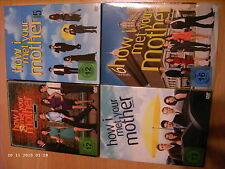 4x DVD-Box: How I Met Your Mother - Staffel/Season 5+ 6+ 7+ 8 (original deutsch)