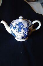 Vintage Tea Pot Grindley' Blue floral 15x24cm