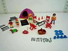 PLAYMOBIL GLOBE TROTTER TENT CAMPING SET WITH FIGURES & ACCESSORIES