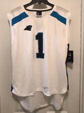 81eb4abbe Carolina Panthers Women s Cam Newton  1 Sleeveless Nike Top Jersey XL