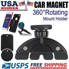 CD Slot Universal Magnetic Phone Holder Car Mount iPhone X Plus Galaxy Note 9 S9