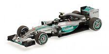 Mercedes W06 Hybrid Nico Rosberg Malaysian Gp 2015 1:43 Model MINICHAMPS