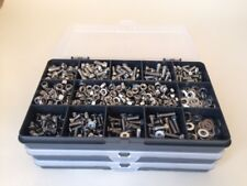 M3 Stainless Steel Socket Allen Screws, Nuts and Washers Assorted Kit 635 pcs